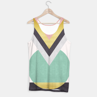 Miniaturka Fashion and golden pattern Tank Top, Live Heroes