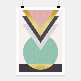 Miniatur Fashion and golden pattern Poster, Live Heroes