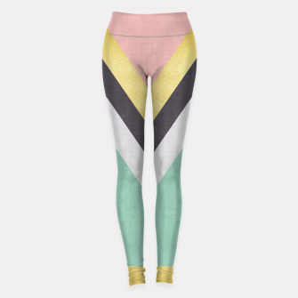 Thumbnail image of Fashion and golden pattern Leggings, Live Heroes