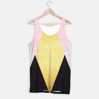 Miniaturka Fashion and golden pattern I Tank Top, Live Heroes