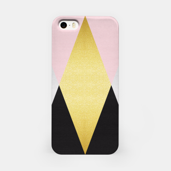 Miniaturka Fashion and golden pattern I iPhone Case, Live Heroes