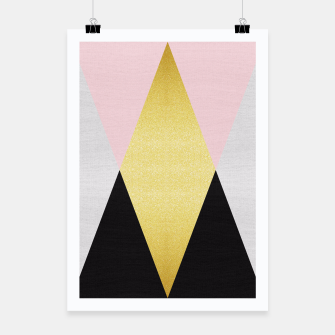 Miniatur Fashion and golden pattern I Poster, Live Heroes