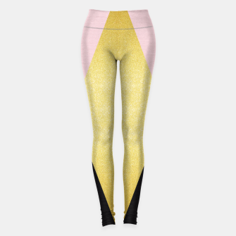Thumbnail image of Fashion and golden pattern I Leggings, Live Heroes