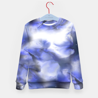 Thumbnail image of Moving Skies Kid's Sweater, Live Heroes