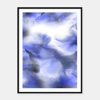 Thumbnail image of Moving Skies Framed poster, Live Heroes