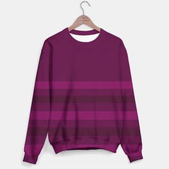 Miniaturka Striped plum Sweater, Live Heroes