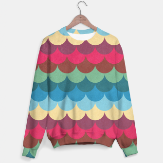 Miniaturka Colorful Mermaid Pattern Sweater, Live Heroes