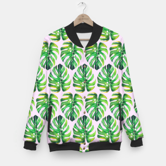 Miniaturka Tropical pattern Baseball Jacket, Live Heroes