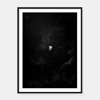 Thumbnail image of Gravity Framed poster, Live Heroes
