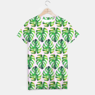 Thumbnail image of Tropical pattern T-shirt, Live Heroes