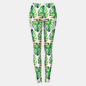 Thumbnail image of Tropical pattern Leggings, Live Heroes
