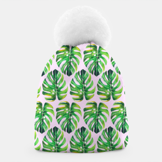 Thumbnail image of Tropical pattern Beanie, Live Heroes
