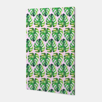 Thumbnail image of Tropical pattern Canvas, Live Heroes