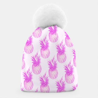 Thumbnail image of Tropical pink pattern Beanie, Live Heroes