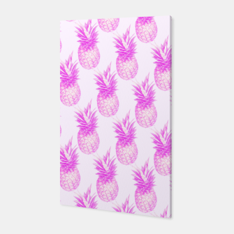 Thumbnail image of Tropical pink pattern Canvas, Live Heroes