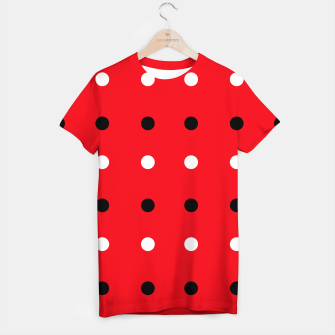 Miniaturka Designers red t-shirt / Vintage edition RED DOTS, Live Heroes