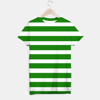 Thumbnail image of Designers t-shirt : MOROCCO GREEN WHITE, Live Heroes