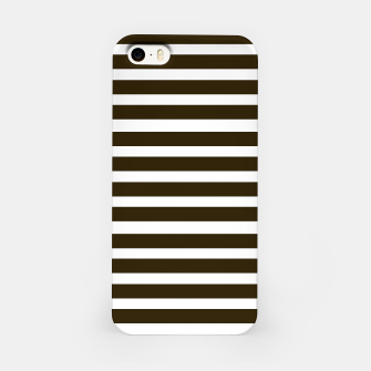 Thumbnail image of iPhone Case with Black stripes / on white, Live Heroes