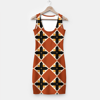 Thumbnail image of Designers simple Dress / Morocco Brown Geometric, Live Heroes