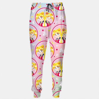 Imagen en miniatura de Usagi VS Sailor Moon Pattern Sweatpants, Live Heroes