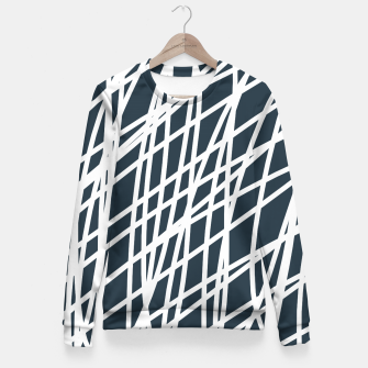 Thumbnail image of Jumble of  Thoughts Fitted Waist Sweater, Live Heroes