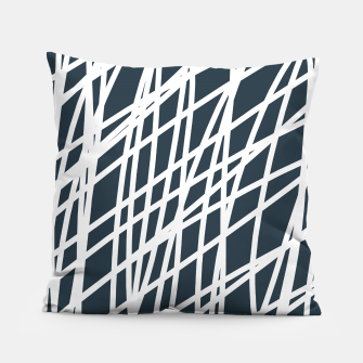 Thumbnail image of Jumble of  Thoughts Pillow, Live Heroes