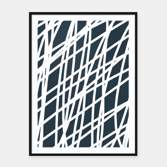 Thumbnail image of Jumble of  Thoughts Framed poster, Live Heroes