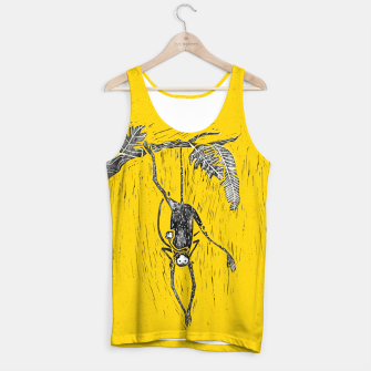 Thumbnail image of Mustard yellow little spider monkey Tank Top, Live Heroes