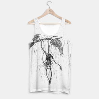 Thumbnail image of Little spider monkey linocut print Tank Top, Live Heroes