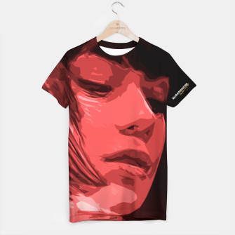 Thumbnail image of Red Woman T-Shirt, Live Heroes