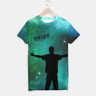 Thumbnail image of Enjoy the Moment T-Shirt, Live Heroes