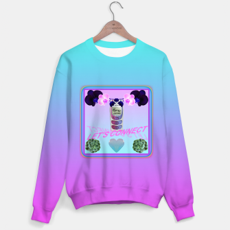 Thumbnail image of LET'S CONNECT Sweater, Live Heroes