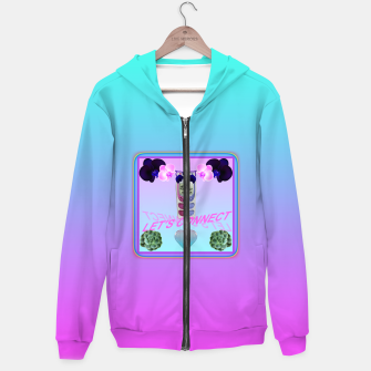 Thumbnail image of LET'S CONNECT Hoodie, Live Heroes