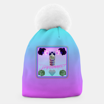 Thumbnail image of LET'S CONNECT Beanie, Live Heroes
