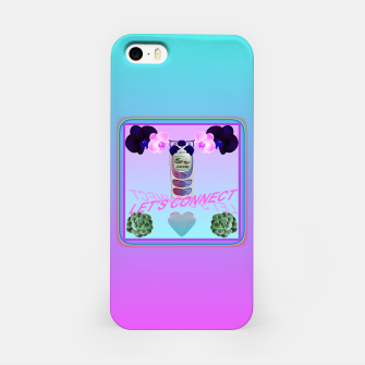 Thumbnail image of LET'S CONNECT iPhone Case, Live Heroes