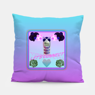 Thumbnail image of LET'S CONNECT Pillow, Live Heroes