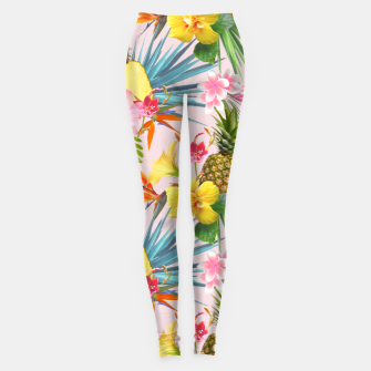 Thumbnail image of Tropical summer Leggings, Live Heroes