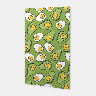 Miniaturka Avocado Egg Canvas, Live Heroes