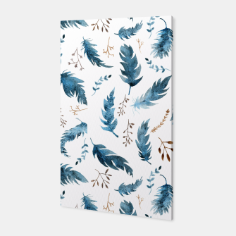 Thumbnail image of Feathers and dried flowers Canvas, Live Heroes