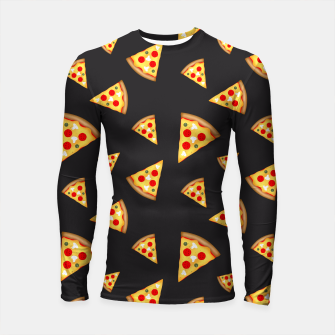 Cool and fun pizza slices pattern Longsleeve Rashguard  thumbnail image