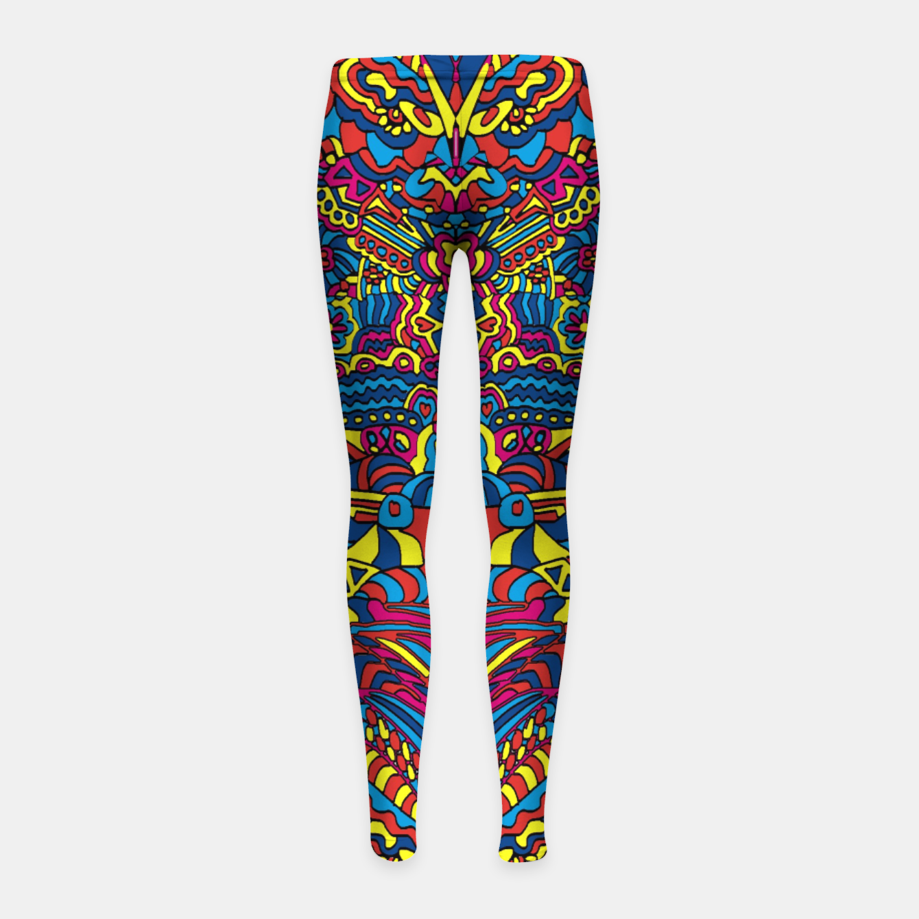 Image of Groovy ZenDoodle Art Girl's Leggings - Live Heroes
