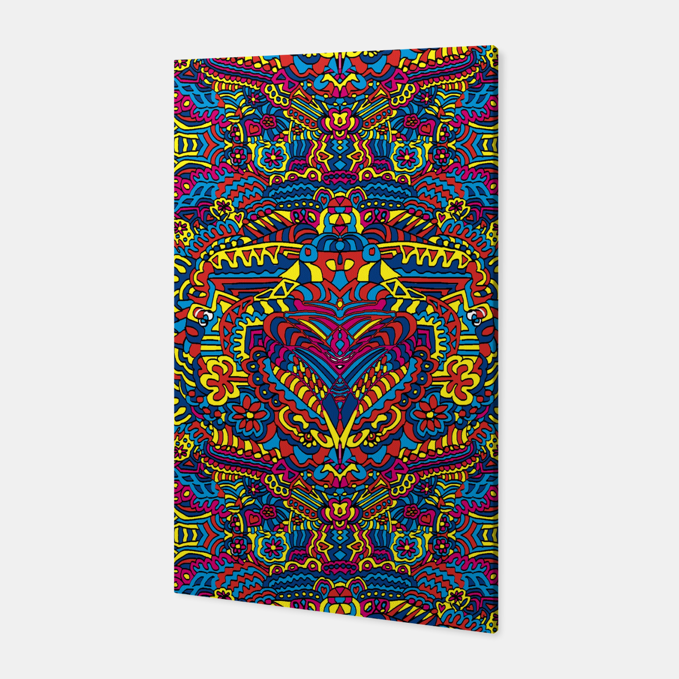 Image of Groovy ZenDoodle Art Canvas - Live Heroes