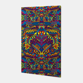 Thumbnail image of Groovy ZenDoodle Art Canvas, Live Heroes