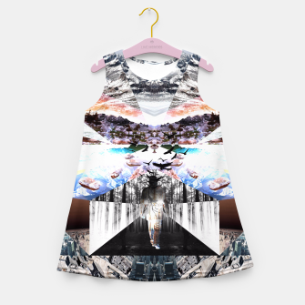 Thumbnail image of COLLIDE D1 Girl's Summer Dress, Live Heroes