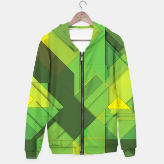 Miniatur So Abstract, So Green Hoodie, Live Heroes