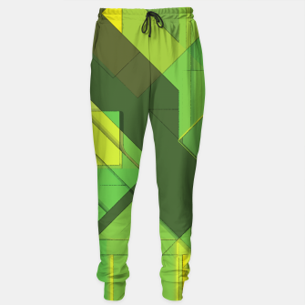Miniatur So Abstract, So Green Sweatpants, Live Heroes