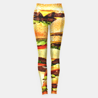 Thumbnail image of Fast Food Nation Leggings, Live Heroes