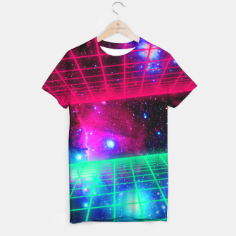 Thumbnail image of Space Grid T-shirt, Live Heroes