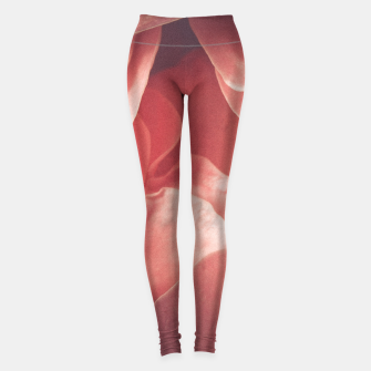 Pastel pink rose flower blossom Leggings thumbnail image