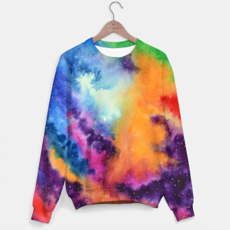 Thumbnail image of Colours of unicorn Island Sweater, Live Heroes